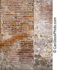 vägg, stena textur