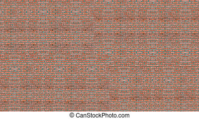 vägg, struktur, hög, bakgrund, tegelsten, upplösning, röd