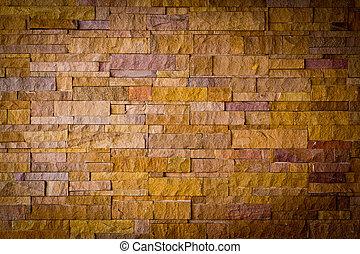 vägg, tegelsten, nymodig, stena textur