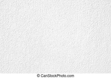 vägg, vit, struktur, gips, bakgrund