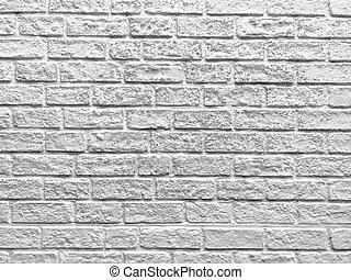 vägg, vit, struktur, tegelsten, bakgrund