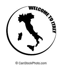 välkommen, italien