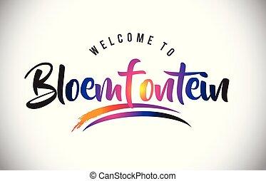 välkommen, purpur, vibrerande, nymodig, bloemfontein, colors...