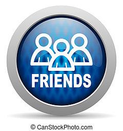 vänner, ikon