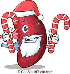 vänskapsmatch, jul, tecken, fästen, tecknad film, jultomten...
