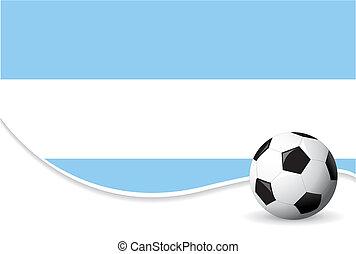 värld, argentina, bakgrund, kopp