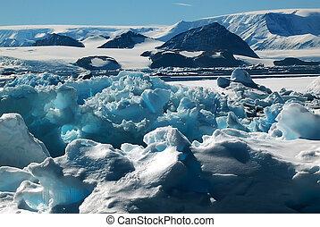 värld, av, is