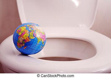 värld, avgrund