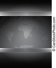 värld, bakgrund, karta