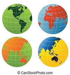 värld glob