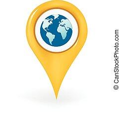värld, lokalisering