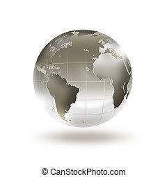 värld, metall