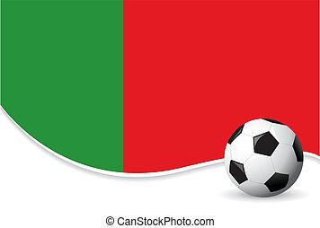 värld, portugal, bakgrund, kopp