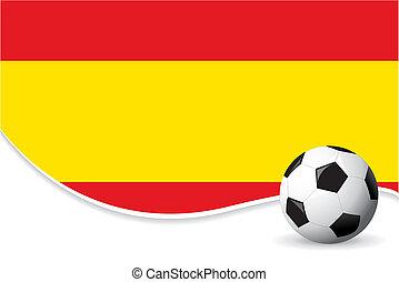 värld, spanien, bakgrund, kopp