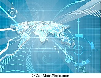 världen kartlägger, bakgrund