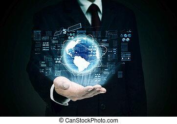 världsomfattande, internetaffär, kontroll