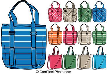 väska, illustration