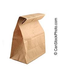 väska, papper
