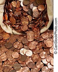väska, penny