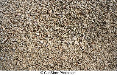 västindisk strand, sand, skalen, specificera