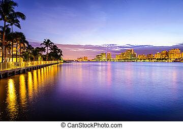 västra palm strand, florida