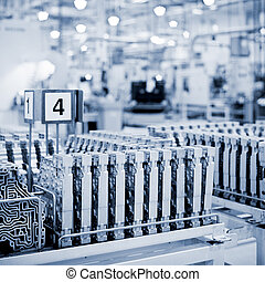 växellådor, fabrik