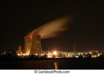 växt, atomkraft
