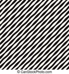 vågig, vektor, pattern., stripes, seamless