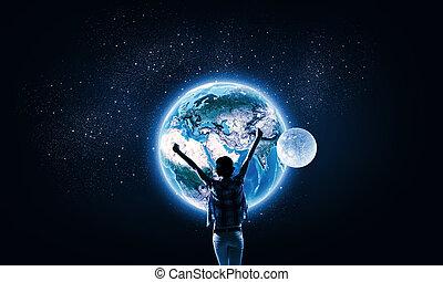 vår, universum