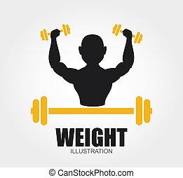 vægte, konstruktion