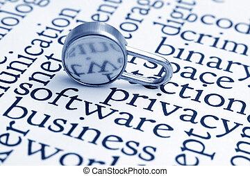 væv, privatliv