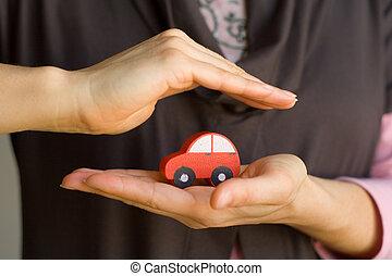 védett, autó