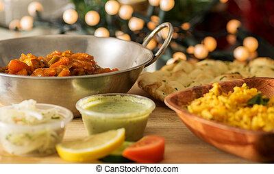 sain cuisine v g tarien indien ensemble rice sain images de stock rechercher des. Black Bedroom Furniture Sets. Home Design Ideas