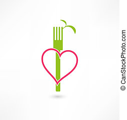 végétarien, signe