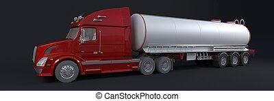 véhicule, cargaison, livraison
