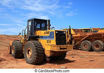 véhicule construction