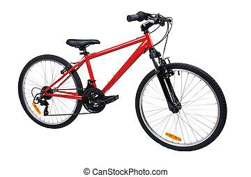 vélo, blanc