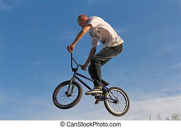 vélo, bmx cyclisme, sport