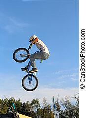 vélo, bmx, sport, cyclisme