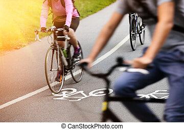 vélo, couloir