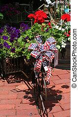 vélo, décoré