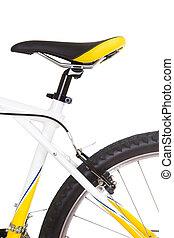 vélo, gros plan, isolé