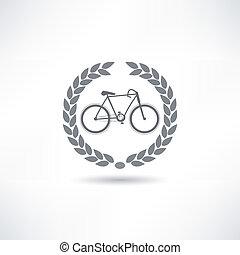 vélo, icône