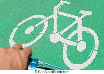 vélo, panneaux signalisations
