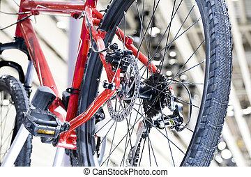 vélo pignon, changer