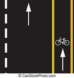 vélo, piste