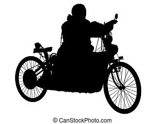 vélo, retro