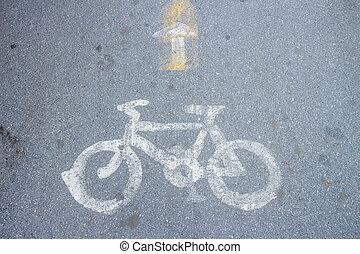 vélo, sentier