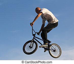 vélo, sport, bmx cyclisme
