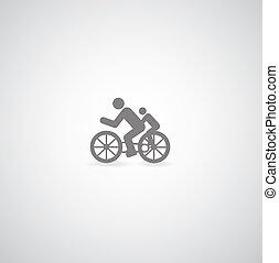 vélo, symbole